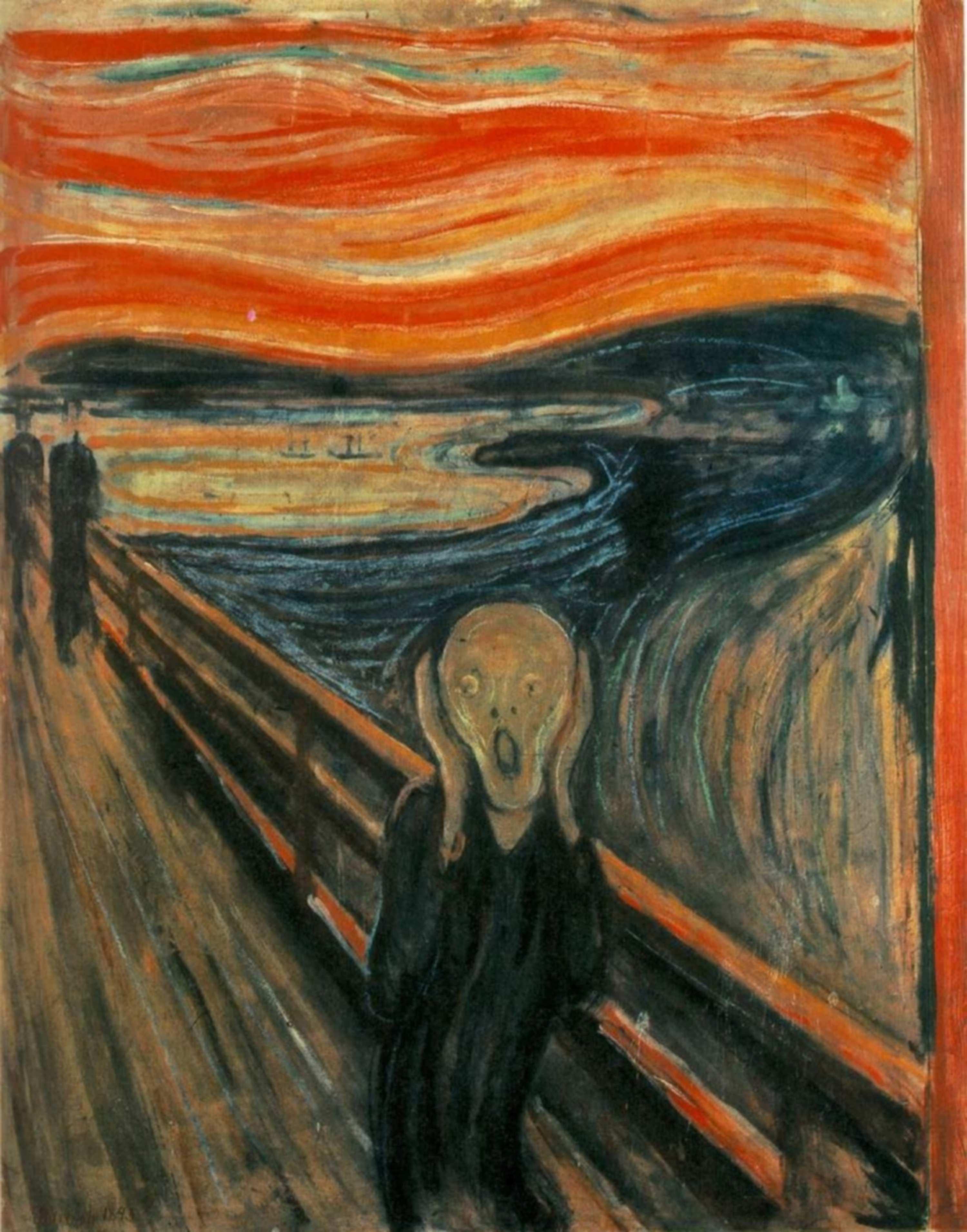 Emil Nolde: Der Schrei